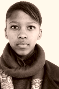 Lungiswa Gqunta (Young Artist from Eden Award, South Africa)